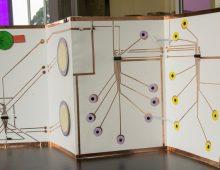 Residencia en Diseño + Creación: Concertina máquinas de papel